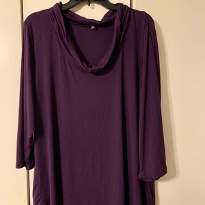 Scoop Neck Blouse, Size 2X, Never Worn